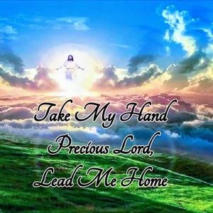 Pillow Cover-New- Christian-Take My Hand Lord